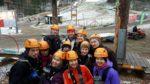 Pelkoa ja riemua Lööpin seikkailupuistopäivässä